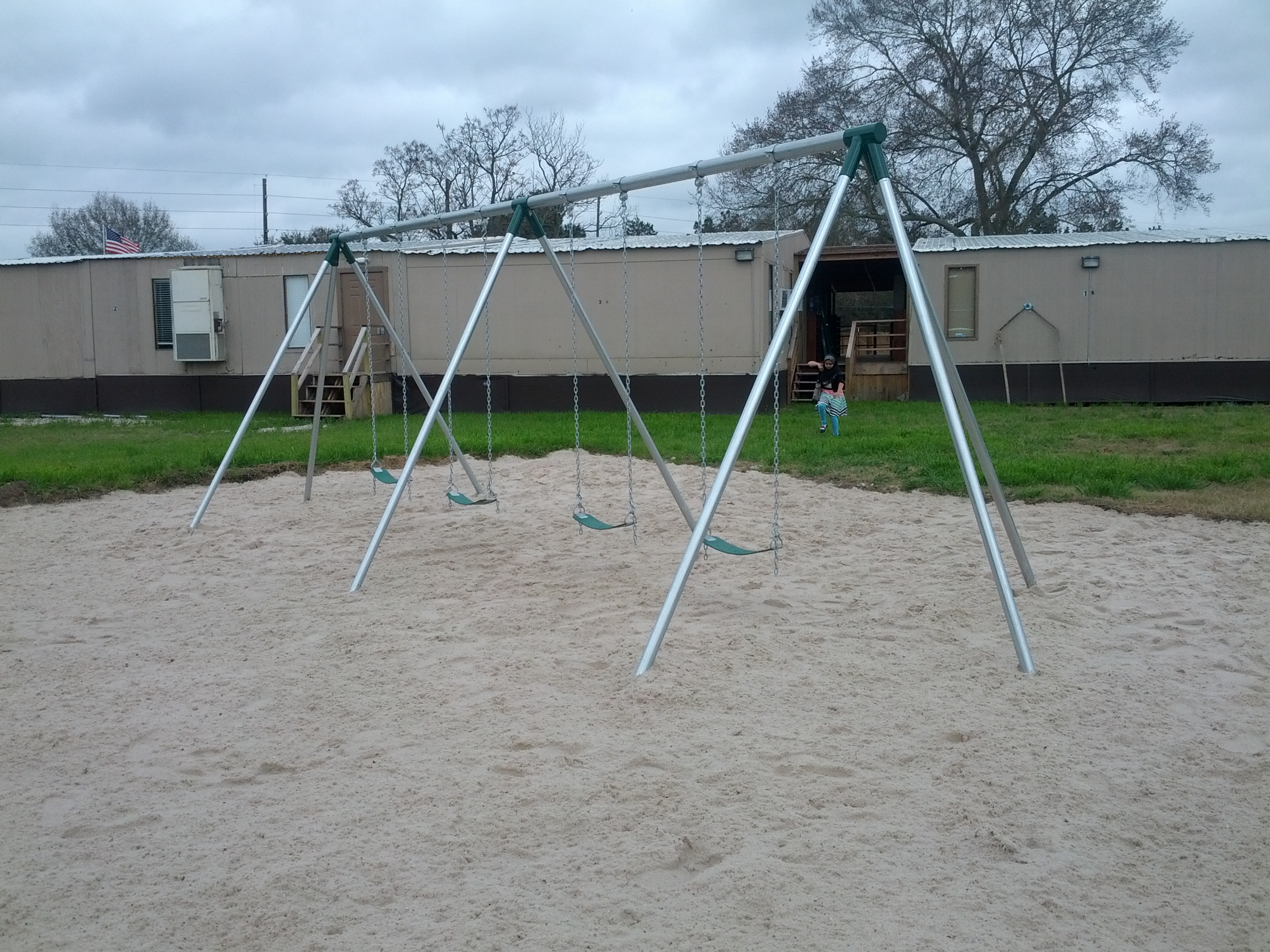 Swing Set at Cypress Islamic Center