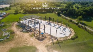 Cypress Islamic Center Construction update, May 6, 2020