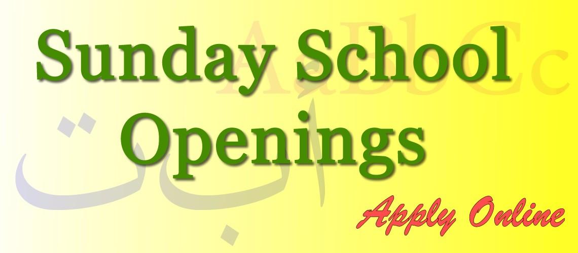 cic-sunday-school-openings