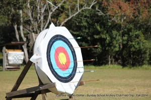 Archery Club Field Trip - Fall 2014